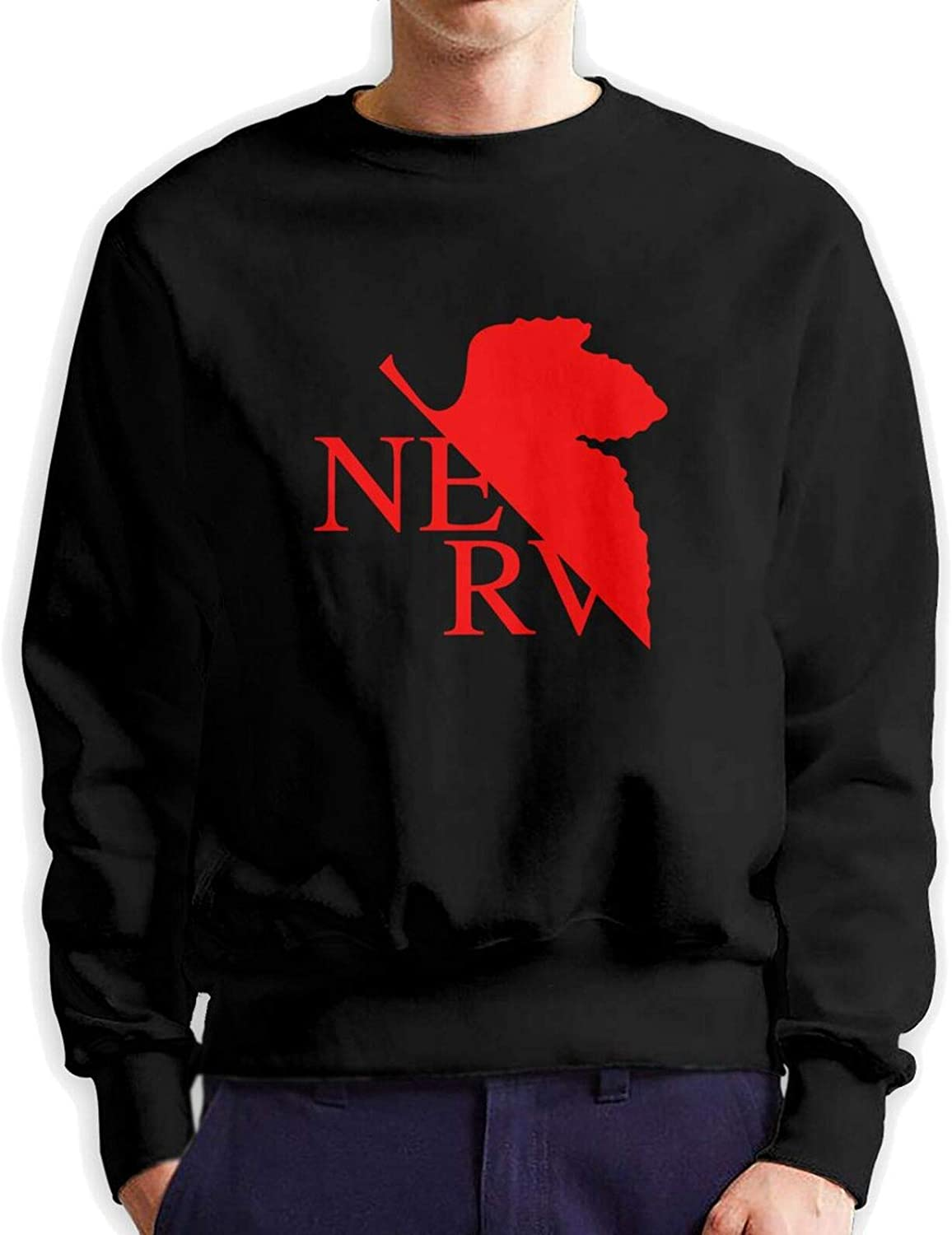 Grunged Nerv Memphis Mall Man Crew Neck Authentic Hooded Hoodie Sweate Recommendation Cotton