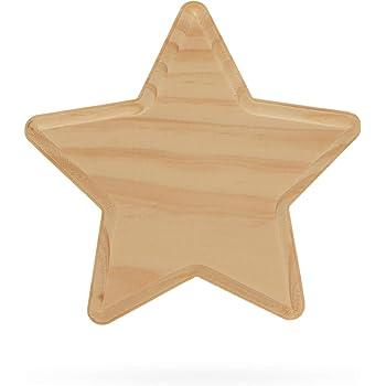 BestPysanky Word Believe Unfinished Wooden Shape Craft Cutout DIY Unpainted 3D Plaque 9.5 Inches