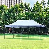 Wonlink 10x20 ft EZ Instant Pop up Canopy Carport,Folding Heavy Duty Height Adjustable Shelter Canopy