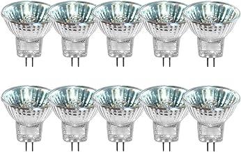 10 x halogeenreflector lamp GU4 12V MR11 warmwit dimbaar Flood 30°
