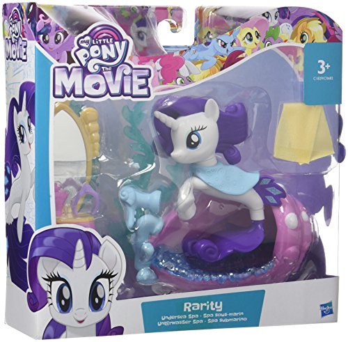 Hasbro My Little Pony C1829ES0 - Movie Unterwasser Rarity, Spielset