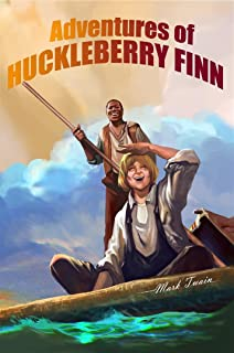 Adventures of Huckleberry Finn : [Illustrated] [More Than 60 Pictures Included] [Free Audio Links]