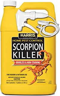 Harris Scorpion Killer, Liquid Spray with Odorless and Non-Staining Formula (Gallon)