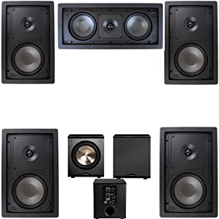 Klipsch R-2650-W In Wall #2 5.1 Home Theater System-FREE PL-200