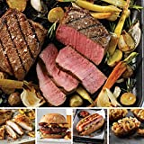 Omaha Steaks Family Value Pack (20-Piece with Top Sirloins, Oven-Roasted Chicken Breasts, Steak...