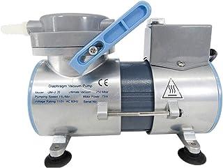 KUNHEWUHUA Oilless Diaphragm Vacuum Pump 0.5CFM Oil Free Mute Vacuum Pump (110V US Plug)