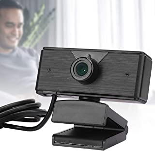 Web Camera, Computer Camera, 1080P Webcam, Full HD True 1080P Automatic Noise Reduction for Online Studying, Conference, Gaming etc.