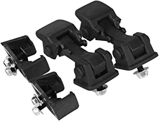 Hood Latches Set of 2 - Replaces 55176636AD, 68038118AA, 42422 - Fits 1997, 1998, 1999, 2000, 2001, 2002, 2003, 2004, 2005, 2006 Jeep Wrangler TJ - Hold-Down Hook Latch Pair - Year Models 1997-2006