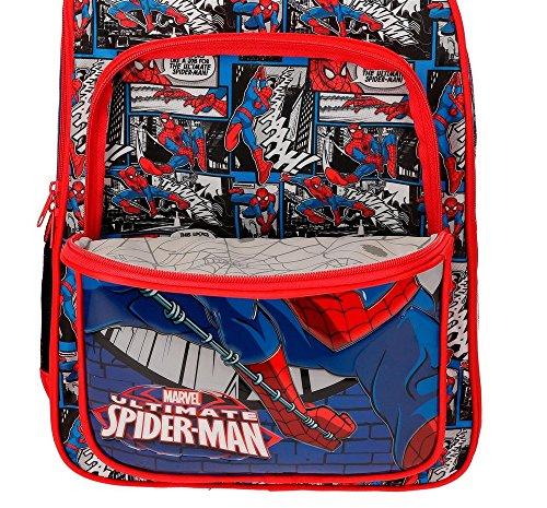 Spiderman Comic Zaino, 40 cm, 15.6 liters, Multicolore (Multicolor)