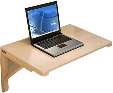 Folding Wall-Mounted Table,Kitchen Dining Desk Multi-Use Child Learning Table Floating Laptop Fold Down Desk Home Office (Siz