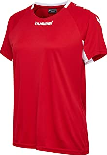 Mujer S Rojo Verdadero Hummel Core SS Jersey