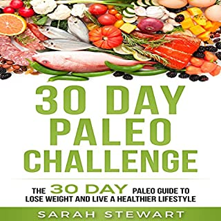 30 Day Paleo Challenge audiobook cover art