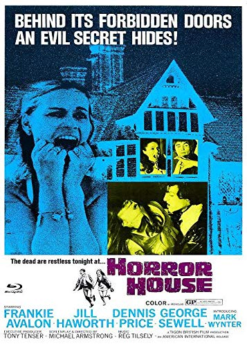 Horror House - Gänsehaut - The Haunted House of Horror - Mediabook - Cover A - Limited Edition auf 222 Exemplare - X-Rated-Eurocult-Collection #64 (+ DVD) [Blu-ray]