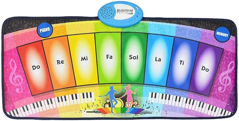 LINGLING-Tastatur Tanzende Füe Elektronische Klavier Kinder Bildung Musik Decke Mdchen Junge Spielzeug (Farbe   A8)
