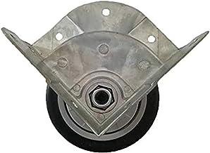 Beter 3 inch aluminiumlegering beugel Airbox Silent Rubber hoekwielen zijn geschikt voor zware rubberen industriële wielen