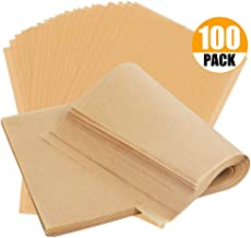 Lovey Parchment Paper Baking Sheets by Baker's Signature | Precut Non-Stick & Unbleached - Will Not Curl or Burn - Non-Tox...