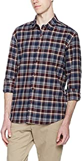 Lumberfield Spring Outdoor 100% Cotton Men's Casual Button-Down Plaid Shirts