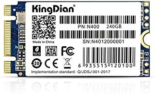 KingDian M.2 NGFF SSD 120GB 240GB 512GB 1TB Solid State Drive Disk 2242 for Desktop PCs and MacPro (1TB)