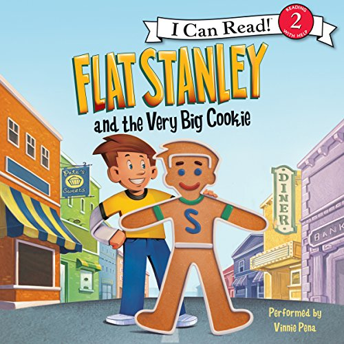Flat Stanley and the Very Big Cookie audiobook cover art