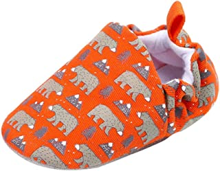 Lurryly❤Newborn Baby Soft Sole Prewalker Anti-Slip First Walkers Shoes Animal (Infant/Toddler)