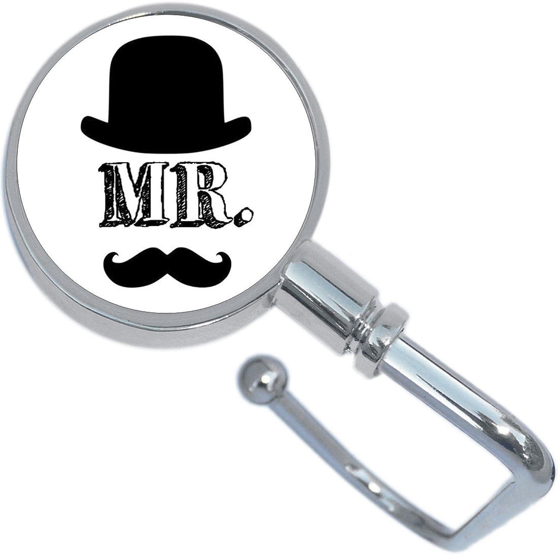 Mr Hat Moustache Purse Hanger