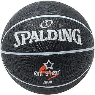 uhlsport Spalding All Star NBA - Balón de Baloncesto para Hombre, Color Negro, 7