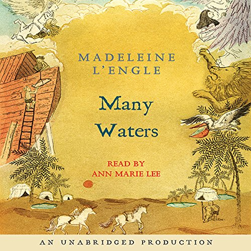 Many Waters audiobook cover art