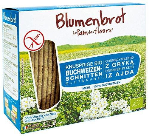 Blumenbrot Bio Knusprige Buchweizen-Schnitten, glutenfrei, 150 g