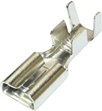 Aerzetix 10 x platte steekhulzen 6,3 mm 0,8 mm 2,5,4 mm²