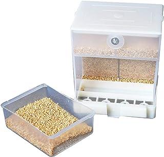comprar comparacion Abree Comedero Pajaros Automático, Comederos para Pajaros Alimentador de Pájaros Contenedor de Alimentos para Periquito Ca...