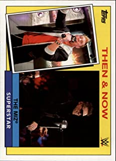 2015 Topps Heritage WWE Then and Now #20 The Miz