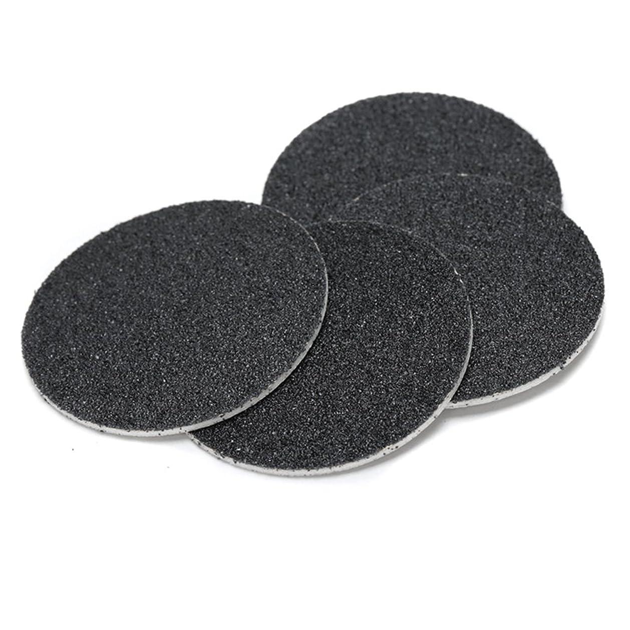 阻害する半導体プライムJoint Victory Pedicure Tools 1 Box (60pcs) Replacement Sandpaper Discs Pad for Electric Foot File Callus Remover Black (Sandpaper Discs)