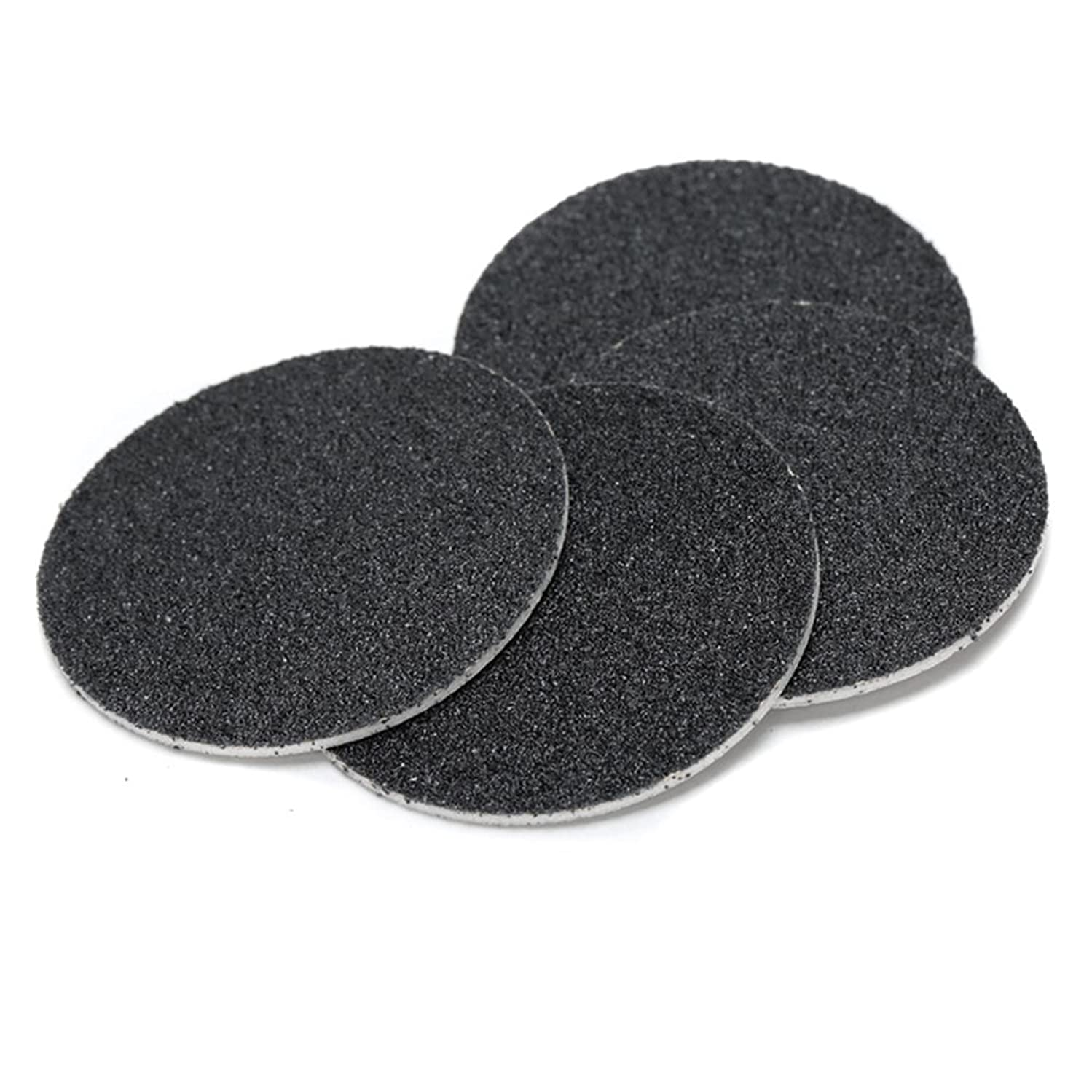 サバント承認する率直なJoint Victory Pedicure Tools 1 Box (60pcs) Replacement Sandpaper Discs Pad for Electric Foot File Callus Remover Black (Sandpaper Discs)