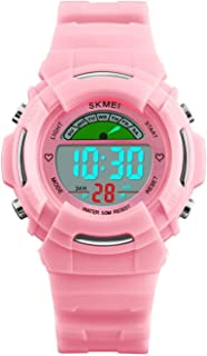 Children Boys Girls Digital Sports Watches Multifunction Alarm Stopwatch 50M Waterproof Led Wrist watch