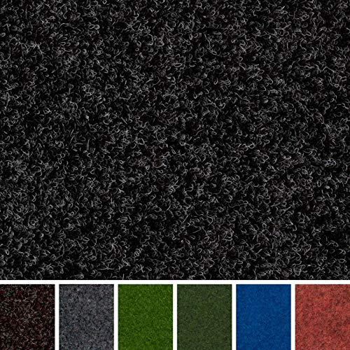 247 Floors Anthracite Outdoor Carpet | Waterproof | Stain & UV Resistant | Gardens Balconies Exhibitions | Pet & Child Friendly (Anthracite, 2m x 2m / 6ft 6' x 6ft 6')