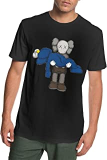 ANANBoyle Men's KAWS Cotton Clothes Short Sleeve T Shirt Cool Tee Tank