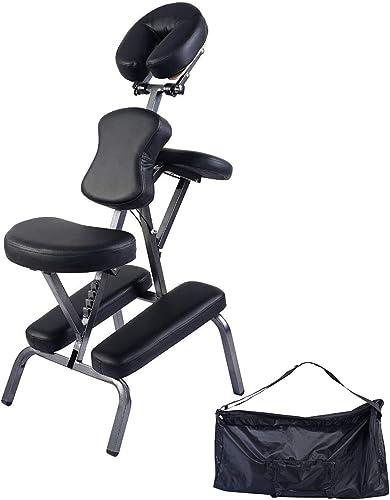 wholesale Giantex Portable popular online Light Weight Massage Chair Travel Massage Tattoo Spa Chair w/Carrying Bag online sale