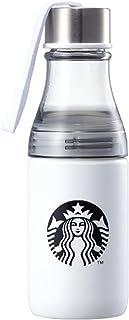 海外限定 スタバ ホワイトサニーストラップ ウォーターボトルタンブラー Starbucks White Sunny Strap Waterbottle Tumbler 500ml [並行輸入品] (White)
