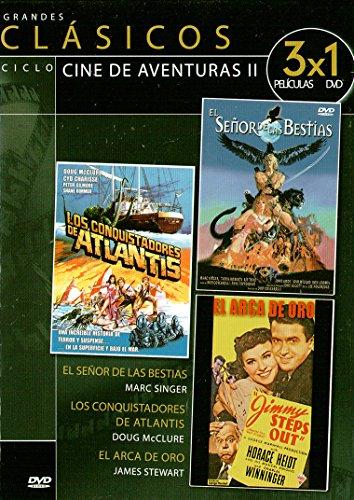 El señor de las bestias / Los conquistadores de Atlantis / El arca de oro