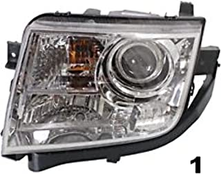 Aftermarket Fits 07-10 Lincoln MKX Left Driver Headlamp Assembly Halogen Type