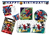 Procos 10118256 Partyset Spiderman Team Up