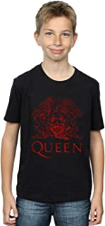 Absolute Cult Queen Niños Distressed Crest Camiseta