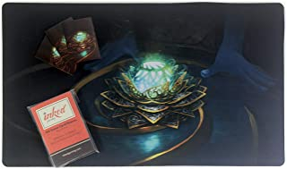 Inked Playmats Playmat and Sleeve Combo Pack Inked Gaming Perfect for TCG Game Mat (Masterpiece Black Lotus)