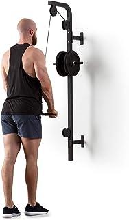 Klarfit Hangman Tirador Lat • Estación Fitness polea • Instalación en Pared • Carga máx.