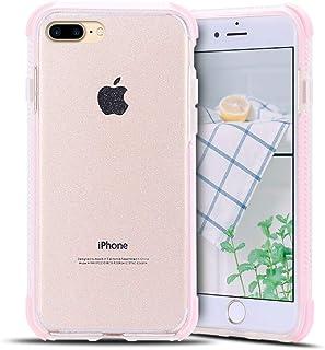 5f154e6e87e Anfire-ES Funda para iPhone 7/8 Plus Silicona Case, Transparente Carcasa de