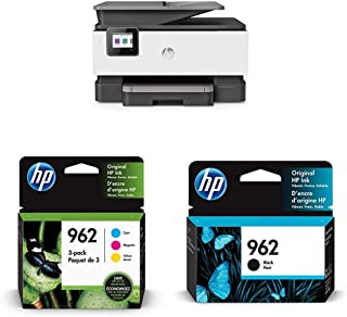 $276 » HP OfficeJet Pro 9015 All-in-One Wireless Printer (1KR42A) with Ink Cartridges - 4 Colors