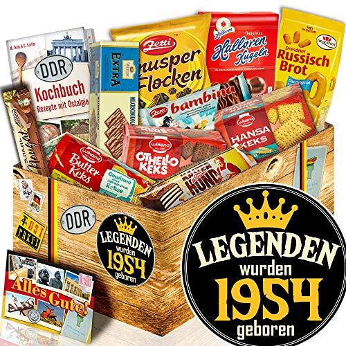 Keks Schachtel Geschenk / DDR Geschenk / Legenden 1954 / Geschenk Geburtstag
