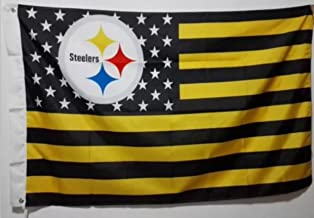 MOREMO Football Team Logo Champion Flag 3 x 5 Double Sided Fans Banner with 2 Grommets