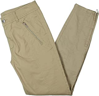 Womens Skinny Fit High Rise Cargo Pants