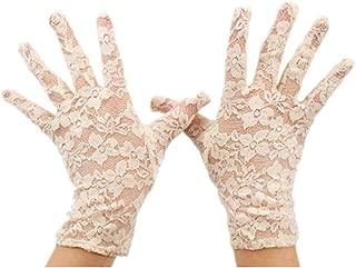 Women's 2019 Short Elegant Lace Wedding Gloves